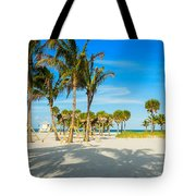 Crandon Park Beach Tote Bag