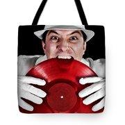 Crazy Dj Tote Bag