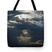 Crepuscular Rays Tote Bag