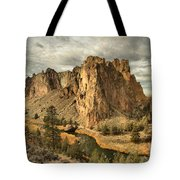 Crooked River Bend Tote Bag