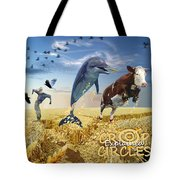 Crop Circles Explained Tote Bag