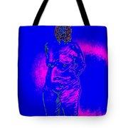 Croquis In Blue Tote Bag