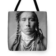 Crow Indian Man Circa 1908 Tote Bag by Aged Pixel