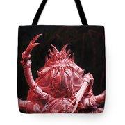 Crustacean Salutation Tote Bag