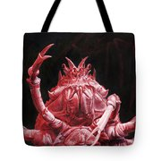 Crustacean Salutation Tote Bag