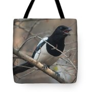 Crying Magpie Tote Bag