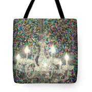Crystal Chandelier Tote Bag