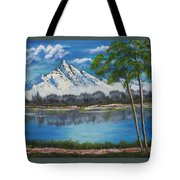 Crystal Mountain Tote Bag
