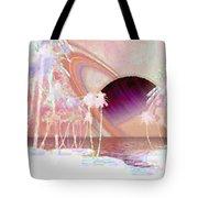 Crystal Sunset Tote Bag