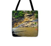Cumberland Falls Rainbow Tote Bag
