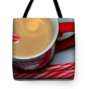 Cup Of Christmas Cheer - Candy Cane - Candy -  Irish Cream Liquor Tote Bag