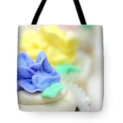 Cupcakes Shallow Depth Of Field Tote Bag