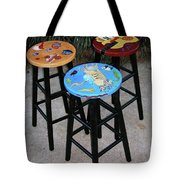 Custom Barstools Tote Bag