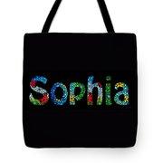 Customized Baby Kids Adults Pets Names - Sophia Name Tote Bag