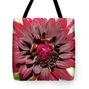 Dahlia Named Black Wizard Tote Bag