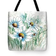 Daisy Patch Tote Bag