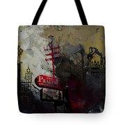 Dallas Skyline 003 Tote Bag