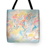 Dance Of Olive Trees Tote Bag