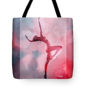 Dancing In The Clouds Tote Bag