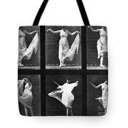 Dancing Woman Tote Bag