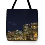 Darling Harbour In Sydney Australia Tote Bag