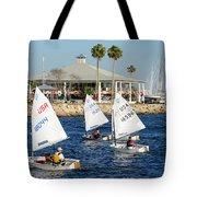 Davis Island Yacht Club Tote Bag