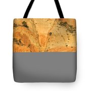 Dawn At Bridge Mountain Tote Bag