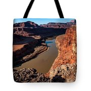 Dead Horse Point Colorado River Bend Tote Bag