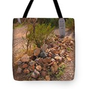 Dead In Tombstone Tote Bag