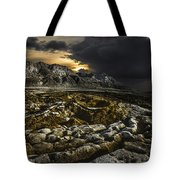 Dead Sea Sink Holes Tote Bag