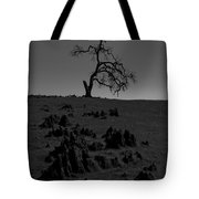 Death Of An Oak Tree Tote Bag