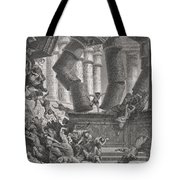 Death Of Samson Tote Bag by Gustave Dore