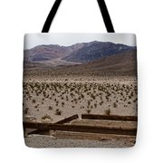 Death Valley Mountains Tote Bag