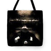 Deceased Man In Repose Tote Bag