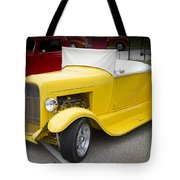 Deep Yellow Tote Bag