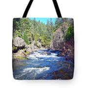 Deer Creek Tote Bag