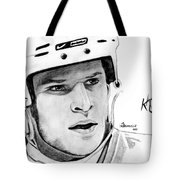 Defence On Offence Tote Bag by Kayleigh Semeniuk