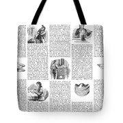 Dentures, 1853 Tote Bag