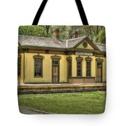 Chester Park Train Depot Tote Bag