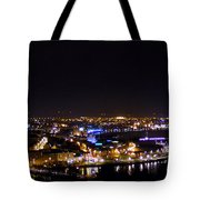 Derry At Night Tote Bag