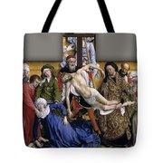 Descent From The Cross Tote Bag