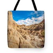 Desert And Blue Sky Tote Bag