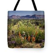 Desert Wildflowers Tote Bag
