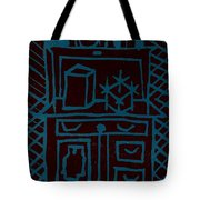 Desk Tote Bag by Erika Chamberlin