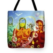 Detail From - The Dreamer's Night Tote Bag