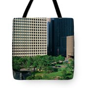 Detail Of Glass Building Tote Bag