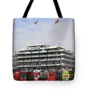 Diamond Jubilee Weekend At The Derby Horse Race On Epsom Downs  Tote Bag