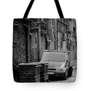 Dirty Back Streets Mono Tote Bag