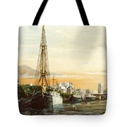 Discovery On The Banks Of The River Thames London Tote Bag
