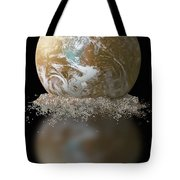 Dissolving Earth Tote Bag